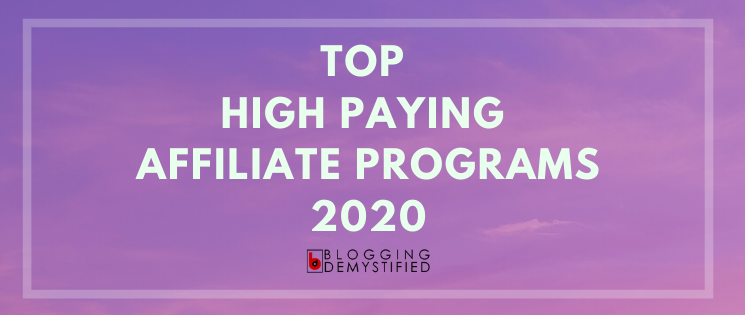 Top affiliate network 2020